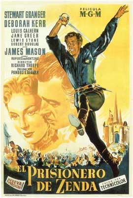 Prisoner of Zenda - 27 x 40 Movie Poster - Spanish Style A