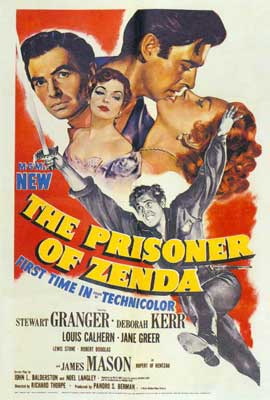 Prisoner of Zenda - 27 x 40 Movie Poster - Style B