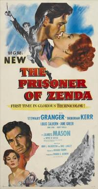 Prisoner of Zenda - 11 x 17 Movie Poster - Style A