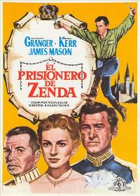 Prisoner of Zenda - 27 x 40 Movie Poster - Spanish Style B