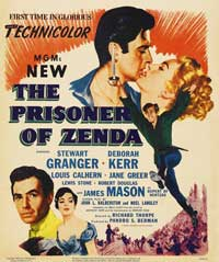 Prisoner of Zenda - 11 x 17 Movie Poster - Style D