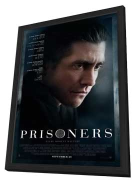 Prisoners - 27 x 40 Movie Poster - Style B - in Deluxe Wood Frame
