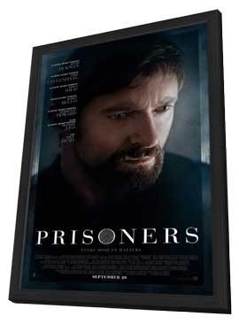 Prisoners - 27 x 40 Movie Poster - Style C - in Deluxe Wood Frame