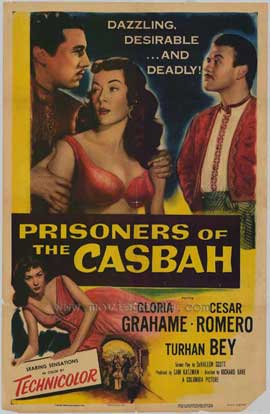 Prisoners of the Casbah - 11 x 17 Movie Poster - Style A