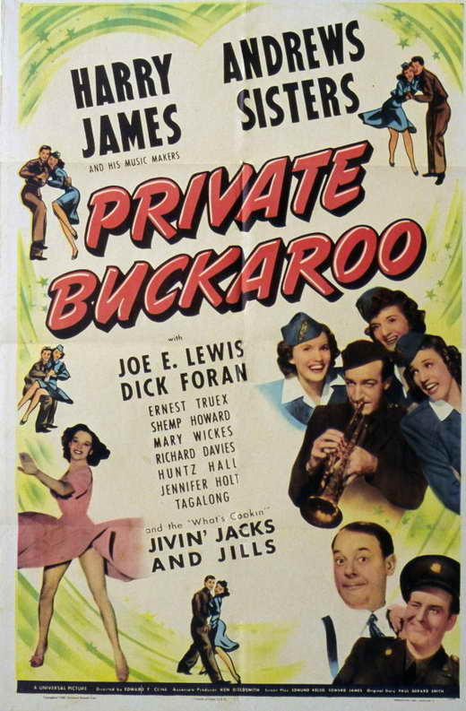 Private Buckaroo movie