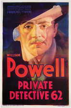 Private Detective 62 - 11 x 17 Movie Poster - Style A