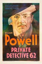Private Detective 62 - 11 x 17 Movie Poster - Style B