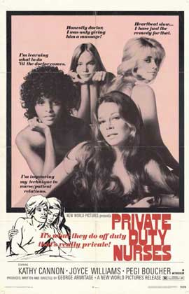 Private Duty Nurses - 11 x 17 Movie Poster - Style A