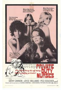 Private Duty Nurses - 43 x 62 Movie Poster - Bus Shelter Style A
