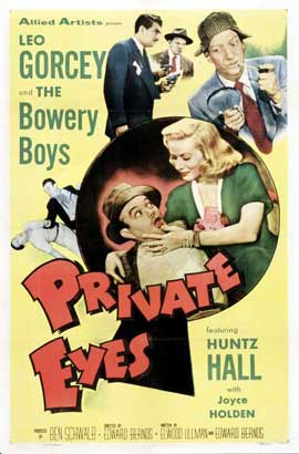 Private Eyes - 11 x 17 Movie Poster - Style A