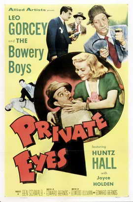 Private Eyes - 27 x 40 Movie Poster - Style A