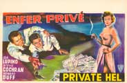Private Hell 36 - 27 x 40 Movie Poster - Belgian Style A