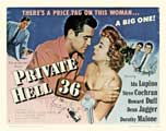 Private Hell 36 - 27 x 40 Movie Poster - Style B