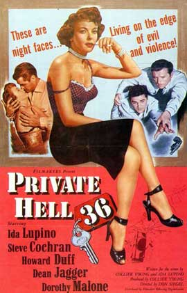 Private Hell 36 - 11 x 17 Movie Poster - Style A
