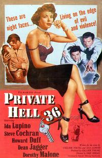 Private Hell 36 - 43 x 62 Movie Poster - Bus Shelter Style A