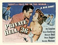 Private Hell 36 - 11 x 17 Movie Poster - Style B