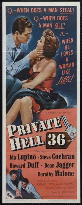 Private Hell 36 - 14 x 36 Movie Poster - Insert Style A