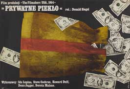 Private Hell 36 - 11 x 17 Movie Poster - Polish Style A