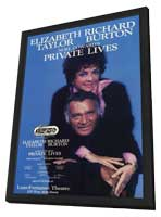 Private Lives (Broadway) - 11 x 17 Poster - Style A - in Deluxe Wood Frame