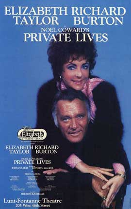 Private Lives (Broadway) - 27 x 40 Movie Poster - Style A