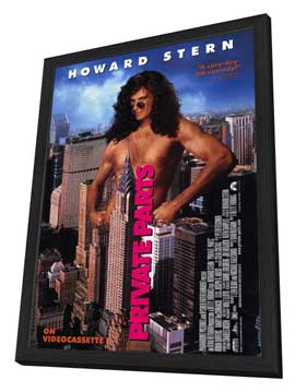 Private Parts - 27 x 40 Movie Poster - Style A - in Deluxe Wood Frame