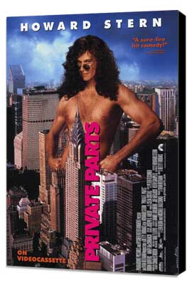 Private Parts - 11 x 17 Movie Poster - Style A - Museum Wrapped Canvas