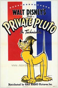 Private Pluto - 43 x 62 Movie Poster - Bus Shelter Style A