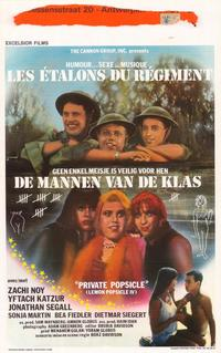 Private Popsicle - 27 x 40 Movie Poster - Belgian Style A