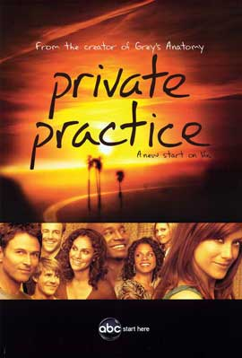 Private Practice (TV) - 11 x 17 TV Poster - Style A