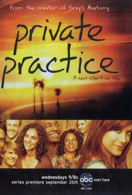 Private Practice (TV) - 27 x 40 TV Poster - Style A