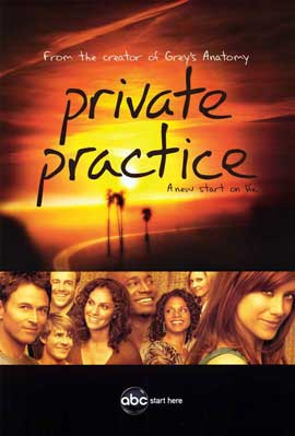 Private Practice (TV) - 11 x 17 TV Poster - Style B
