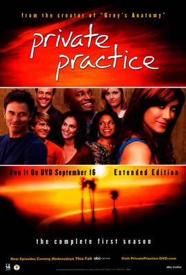 Private Practice (TV) - 11 x 17 TV Poster - Style C