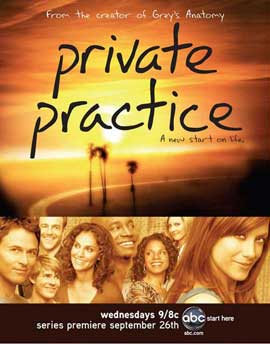 Private Practice (TV) - 11 x 14 TV Poster - Style A