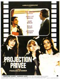 Private Projection - 11 x 17 Movie Poster - French Style A
