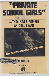 Private School Girls - 27 x 40 Movie Poster - Style A