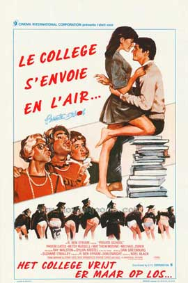 Private School - 27 x 40 Movie Poster - Belgian Style A