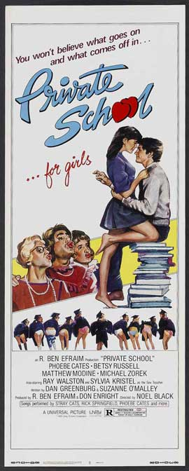 Private School - 14 x 36 Movie Poster - Insert Style A