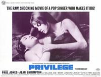 Privilege - 11 x 14 Movie Poster - Style A