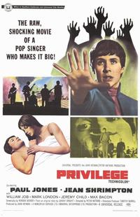 Privilege - 11 x 17 Movie Poster - Style A