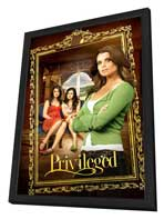 Privileged - 27 x 40 Movie Poster - Style A - in Deluxe Wood Frame