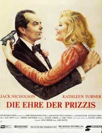 Prizzi's Honor - 27 x 40 Movie Poster - German Style A