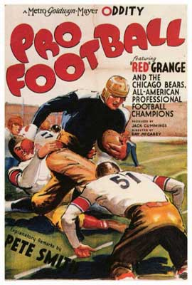 Pro Football - 27 x 40 Movie Poster - Style A