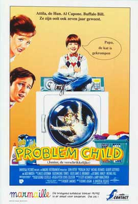Problem Child - 11 x 17 Movie Poster - Belgian Style A