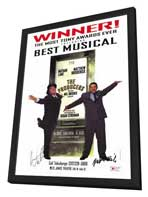 Producers, The (Broadway) - 11 x 17 Movie Poster - Style D - in Deluxe Wood Frame