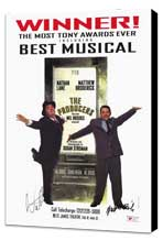 Producers, The (Broadway) - 11 x 17 Movie Poster - Style D - Museum Wrapped Canvas
