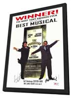 Producers, The (Broadway) - 27 x 40 Movie Poster - UK Style D - in Deluxe Wood Frame