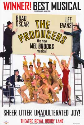 Producers, The (Broadway) - 27 x 40 Movie Poster - Style C