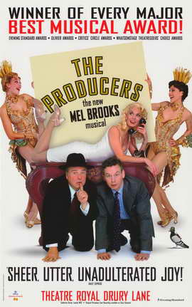 Producers, The (Broadway) - 11 x 17 Movie Poster - Style C