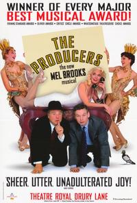 Producers, The (Broadway) - 27 x 40 Movie Poster - Style B
