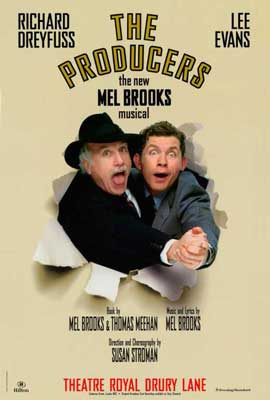 Producers, The (Broadway) - 27 x 40 Movie Poster - Style A